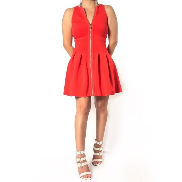 Olsenboye Dresses & Skirts - ¡¡☘️3/$20!! Olsenboye Red Fit Flare Dress TPI